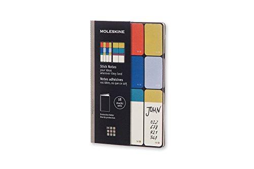 Moleskine Haftnotizen 360 Pocket, farbig