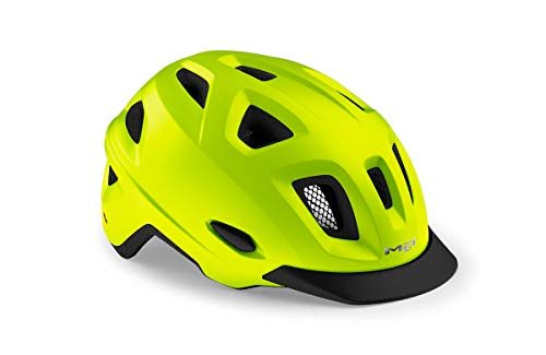 MET Urban Mobilite MIPS - Casco de ciclismo, color amarillo, talla M