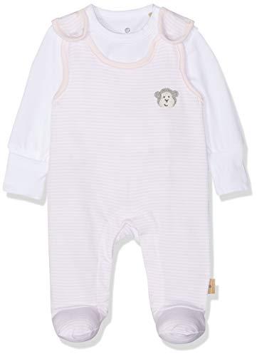 Bellybutton mother nature & me Unisex Baby Strampler & T-Shirt 1/1 Arm Strampler, Rosa (Bb Rose|Rose 2251), 86
