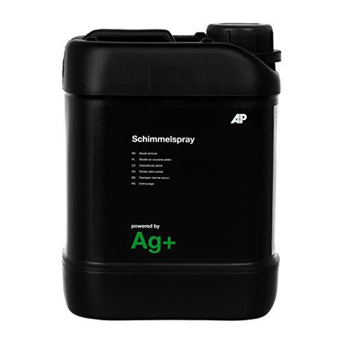 Ag+ Schimmelspray/Schimmelentferner, chlorfrei, mit Aktivsauerstoff-Sofortwirkung und Ag+-Langzeitwirkung (2,5 L)