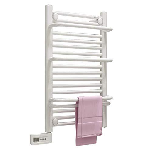 ZXCV Toallero Electrico Banio Estante Montado En La Pared Termostato Inteligente Calefacción Regular Seguro Impermeable A Prueba De Humedad Mute Y Respetuoso con El Medio Ambiente (Color : Left)