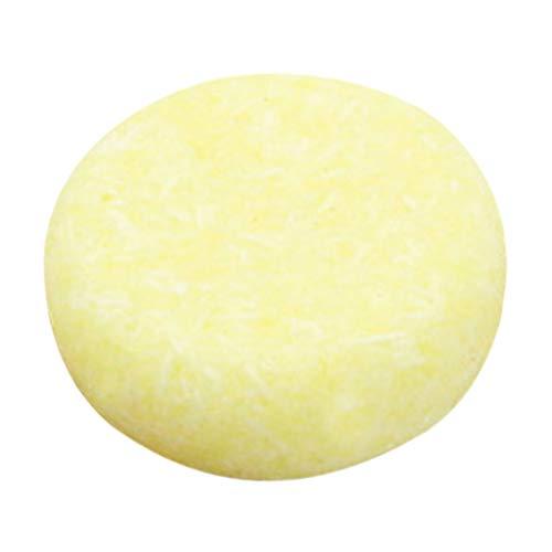 Amuzocity Natural Herbal Hair Nourish Solid Shampoo Bar Hidratante Orgánico para La Reparación Del Cabello - Limón