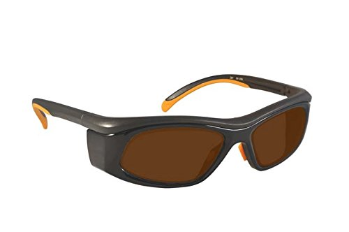 Laser Safety Glasses with IPL Brown Contrast Enhancement - Model 206 YBO