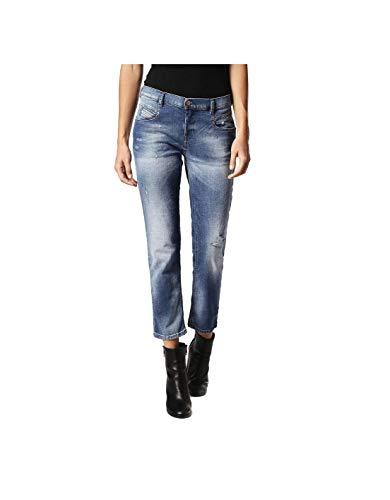 Diesel Belthy Ankle 084GQ Jeans Donna (25W / 32L, Blu)