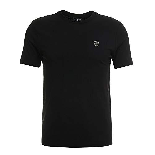 Emporio Armani EA7 Basic T-Shirt (XXL, Nero)