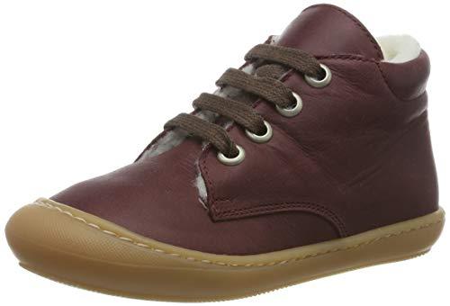 Däumling Unisex Baby Stig Sneaker, Rot (Action Moscato 23), 22 EU