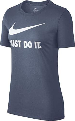 NIKE tee Crew JDI Swoosh Hbr Camiseta Mujer: Amazon.es: Ropa y accesorios