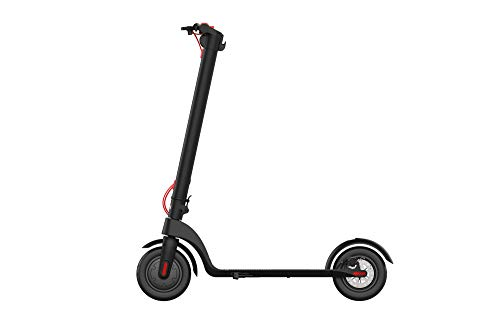 Henoh Electric Scooter, 8.5 inch Tire 20 Miles Long-Range PANASONIC Battery, Up to 22 MPH, Easy Fold and Carry Design, Ultra-Lightweight Aluminum Alloy, Black