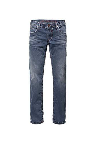 Camp David Herren Vintage-Waschung und Breiten Nähten Jeans