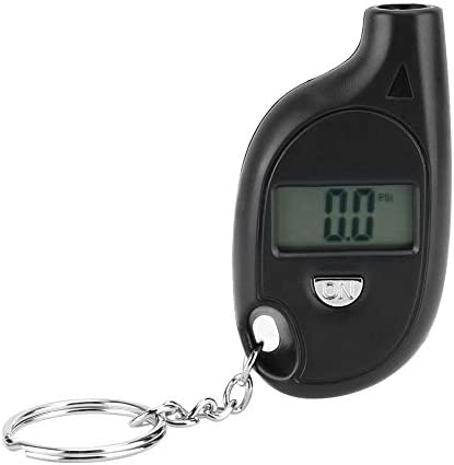 Tire Pressure Gauge 5 150PSI Mini Digital LCD Tire Tyre Air Pressure Gauge Tester With Keychain product image