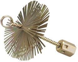 Silverline 417961 - Cepillo de alambre en forma de espiral (