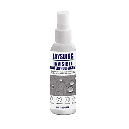 Mighty Bath Sealant Spray Trapping Repair Spray Agente Impermeable Invisible para filtración de Agua de Inodoro, Fuga de Pared Externa