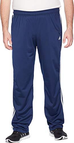 adidas Big & Tall Essentials 3-Stripes Regular Fit Tricot Pants Collegiate Navy/White 1 XLT