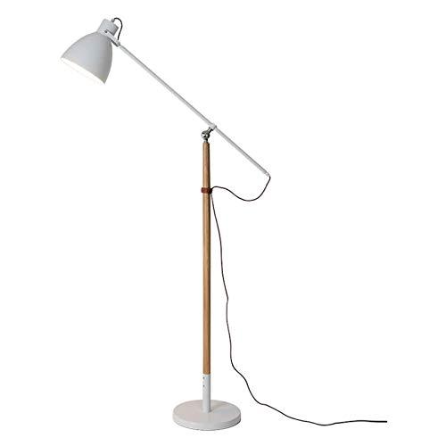 Lámpara de Pie Contemporáneo Arco Lámpara de pie Lámpara de pie industrial for salas de estar y dormitorios lámpara de lectura, ajustable Brazo cubierta de la lámpara Polo, 61' H Lámpara de Pie Modern