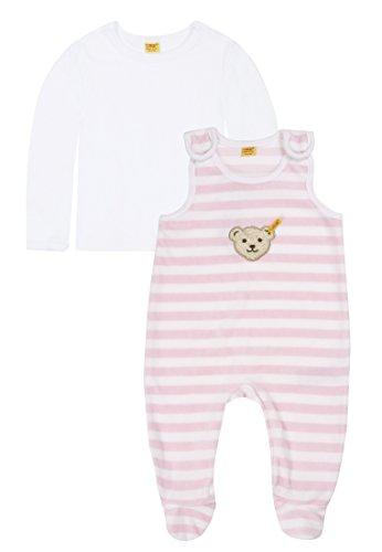 Steiff Unisex - Baby Bekleidungsset Rosa (barely pink ) 74 (Herstellergröße: 74)