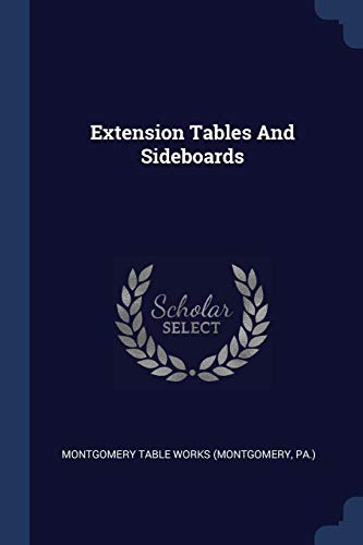 Extension Tables And Sideboards
