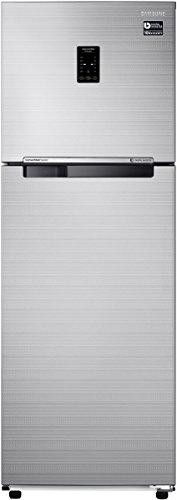 Samsung 275 L 3 Star (2019) Frost Free Double Door Refrigerator(RT30K3723S8, Elegant Inox, Convertible, Inverter Compressor)