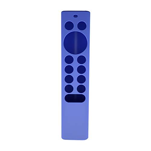Senmubery Maison TV Télécommande Housse en Silicone Anti-Poussière Lavable Convient pour Nvidia Shield TV Pro / 4K HDR Télécommande Bleu