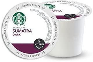 24 Ct Starbucks Sumatra Coffee K-Cup Packs