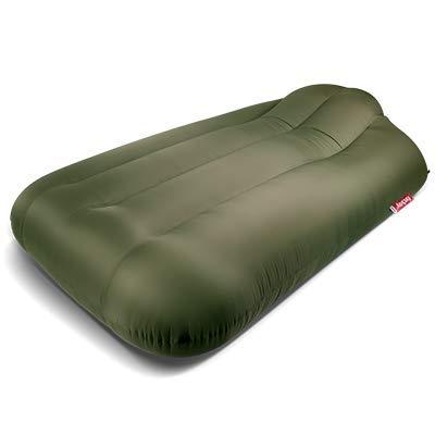 lamzac Luftgefülltes aufblasbares Sofa für den Garten XXX-groß olivgrün