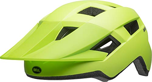 BELL Spark Junior Youth, Casco da Ciclismo Bambino, Verde Brillante Opaco, 50-57 cm