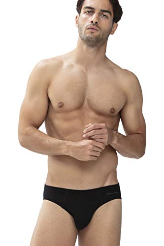 Mey Basics Serie Casual Cotton Herren Jazz-Pants Schwarz XL(7)