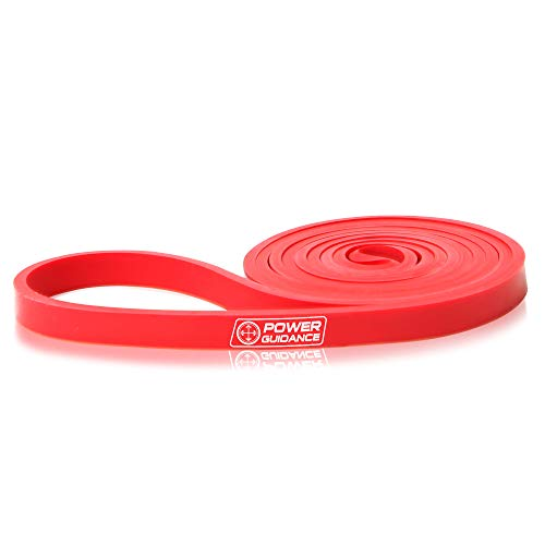 POWER GUIDANCE Resistance Bands - Pull Up Bands - Exercise Loop Band for Body Stretching, Powerlifting