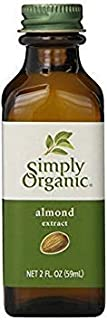 SIMPLY ORGANIC EXTRACT ALMOND ORG, 2 OZ