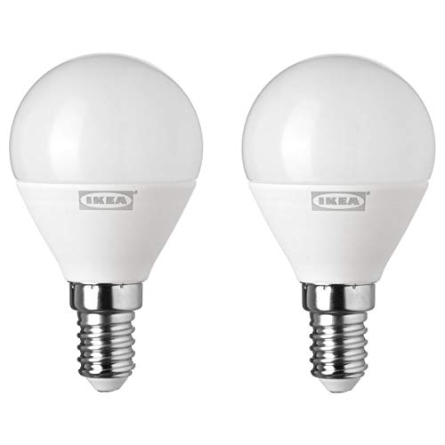 IKEA RYET LED lamp E14 400 lumen bol opaal wit 2-pack