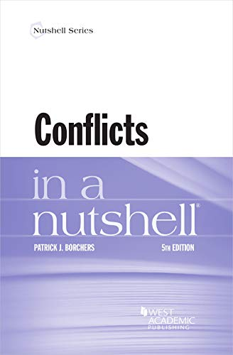 Compare Textbook Prices for Conflicts in a Nutshell Nutshells 5 Edition ISBN 9781647085803 by Borchers, Patrick J.