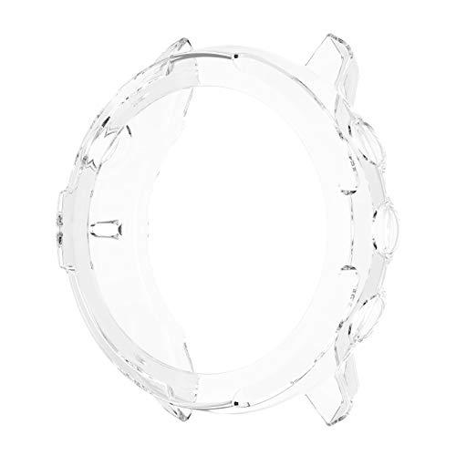 Kaxofang Estuche de TPU Carcasa Protectora Cubierta de Piel AntiaraaAzos para Suunto7 Fundas de Relojes Inteligentes para Suunto 7 Estuche Protector