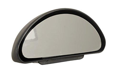 Weitwinkelspiegel Zusatzspiegel SCHWARZ (aus Kunststoff) für Wohnmobile, Transporter etc. schwarz~