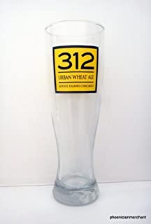 312 Urban Wheat Ale Goose Island Brewery Chicago Illinois Weissbier Beer Glass by Goose Island Brewery