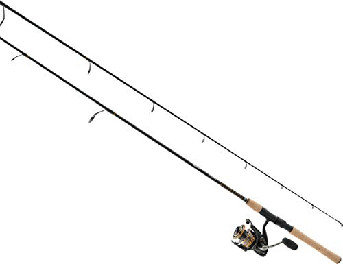 Daiwa BG4000/701MH BG Saltwater Pre-Mounted Spinning Combo, 7' Length, 1Piece Rod, 7 Bearings, Medium/Heavy Power