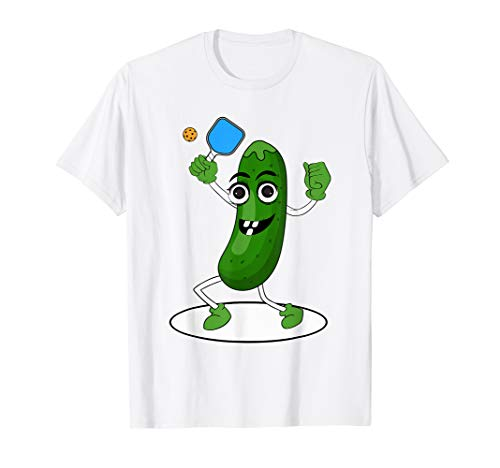 Pickleball Champ: Dill Pickle Ball + Paddle Design {T-Shirt}