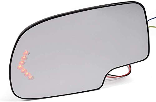 Left Driver Side Signal Mirror Glass Replacement Glasses Driver Power Heated Compatible -