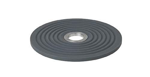 Blomus Untersetzer-63778 Untersetzer, Edelstahl matt, Silikon, Magnet, 1 cm