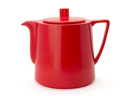 Bredemeijer Teapot 1.5L, red Teekanne Lund 1,5L, rot, Keramik, 14.4 x 20.5 x 17.4 cm