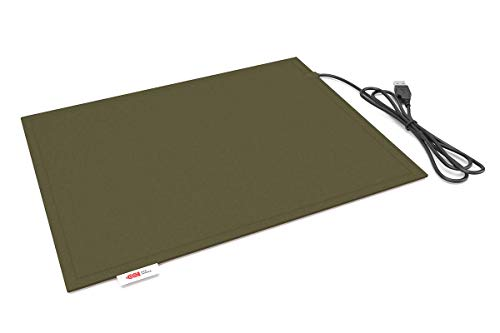 Lappo Comfort Pad USB beheizbares Sitzkissen (Oliv)