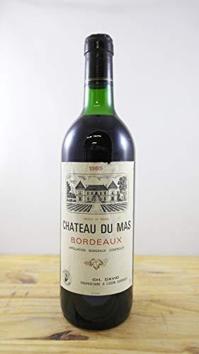 Vino Cosecha 1985 Château du Mas Botella