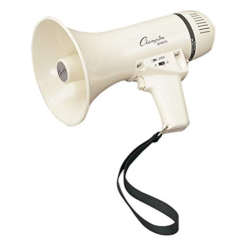 Champion Sports MP4W Megaphones, 400 yd
