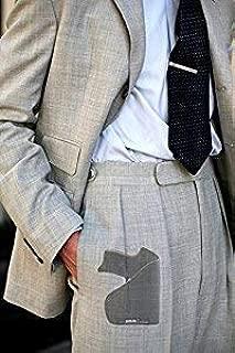 Garrison Grip Custom Fit Leather-Trimmed Pocket Holster Concealed Carry Comfort, Ruger LC9 9mm (D)