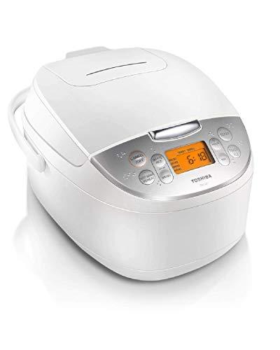 Toshiba TRCS01 Rice Cooker, 1 L, White (Renewed)