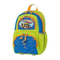 McNeill 7546.776.000blau, grün, orange Rucksack–Rucksäcke (blau, grün, orange, monoton, Vordertasche, Seitentasche, Reißverschluss, 230mm, 170mm)