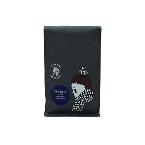 Akha Ama Coffee Bean, Cafe Blend, Thai Coffee Beans, Medium Espresso Roasted, Single Origin Roasted Coffee Bean from Thailand, 8.8 oz. / 250 g. (Pack of 1)