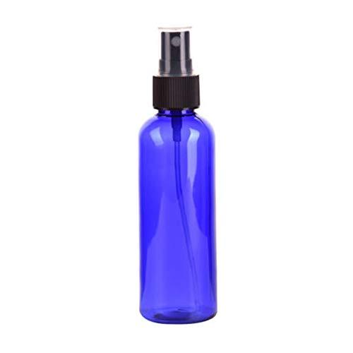 QHKS 100 ml Femmes Bleu Vaporisateur Plastique Huile Essentielle liquide aromathérapie Distributeur fine Mist Atomiseur récipient cosmétique (Color : Blue)