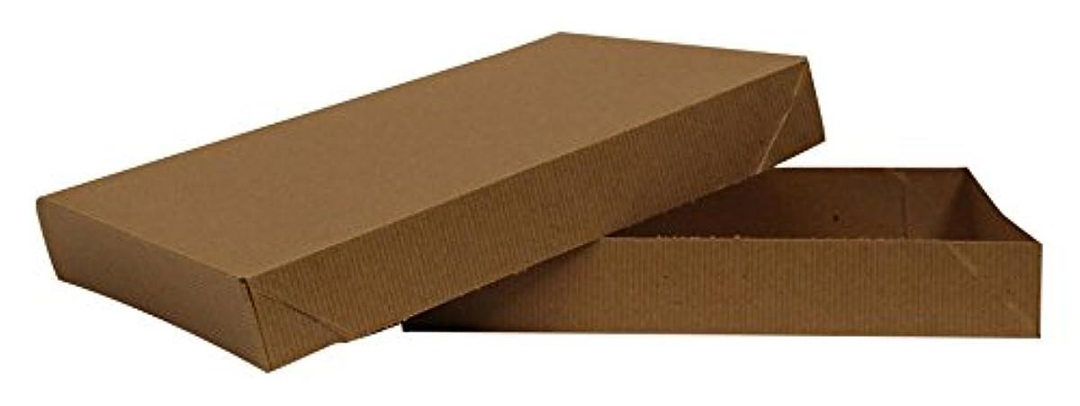Two Piece Apparel Box - Kraft - 100 Count 11.5x8.5x1.625 inch