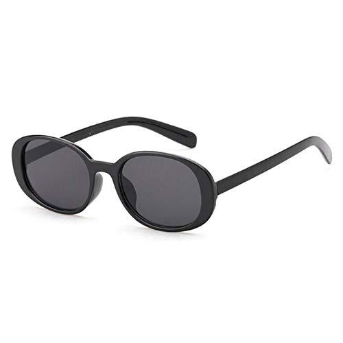 ZZOW Ins Popular Fashion Oval Mujeres Gafas De Sol Vintage Tea Lens Eyewear Ladies Outdoor Sun Glasses Shades Uv400 Oculos De Sol