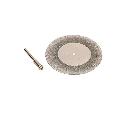 Join Ware 50mm 2 Inch Diamond Cutting Disc With Mandrel For Rotary Blade Drill Tools Accessories For Glass, Concrete