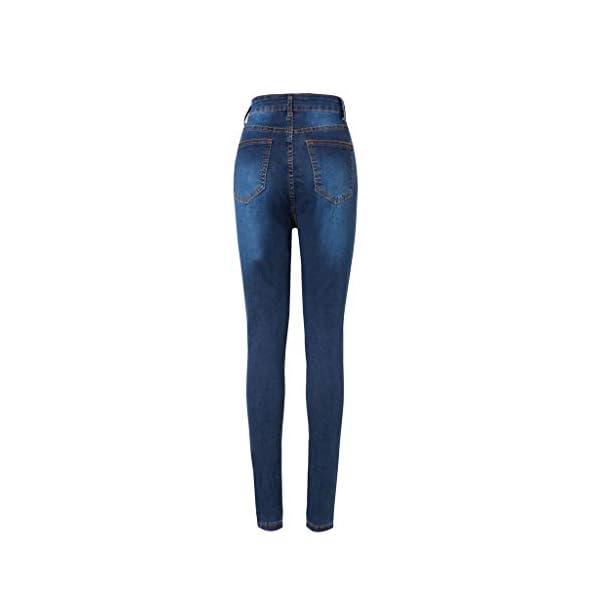 Women's Slim Fit Denim Pants Comfy Stretch Skinny Jeans 6